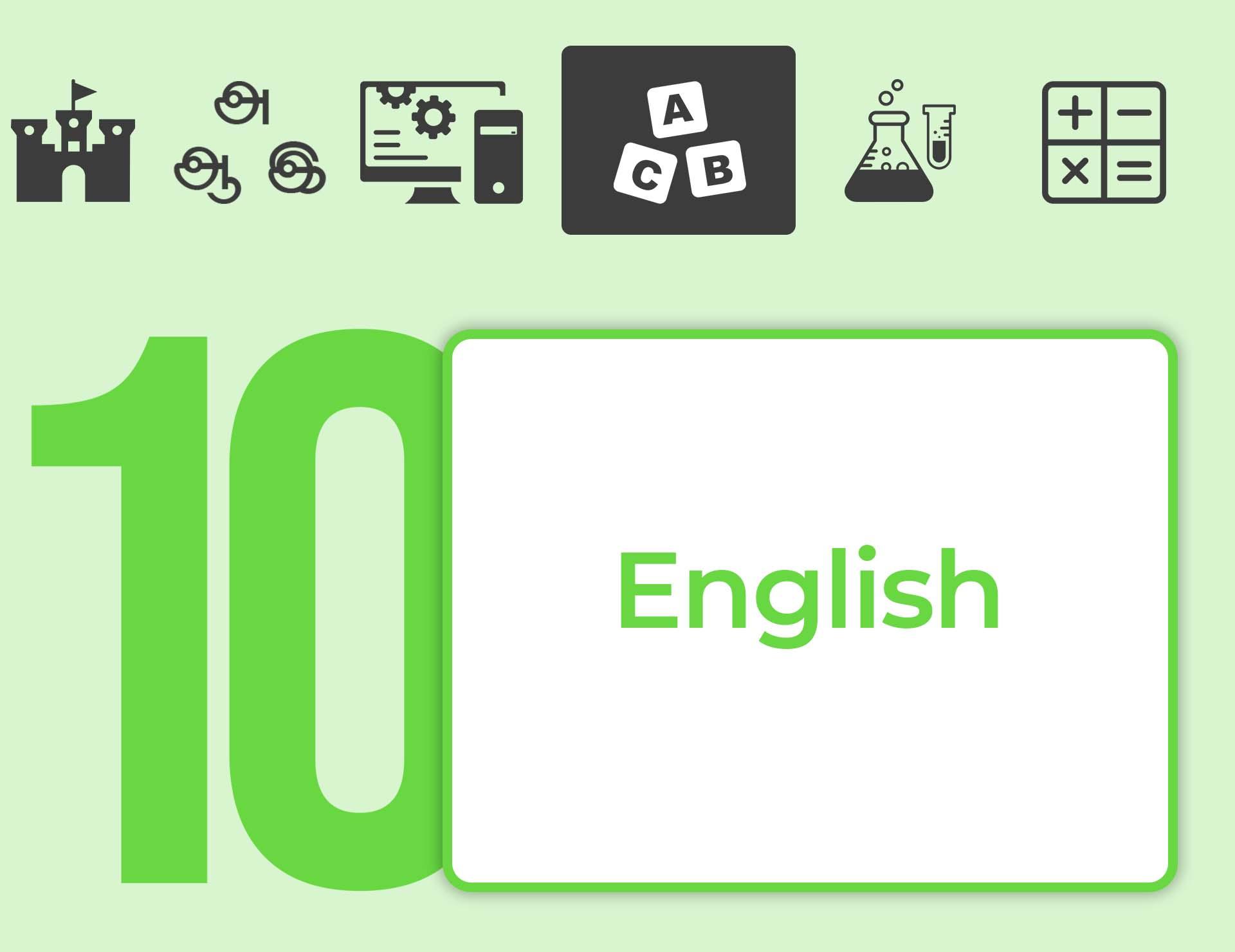 தரம் 10 English