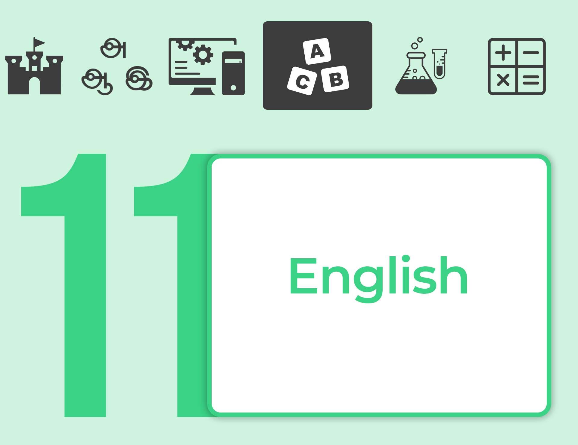 தரம் 11 English Booster Course
